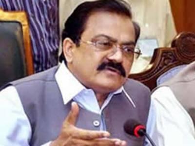 آئندہ انتخابات میں تحریک انصاف میں عمران خان بارہویں کھلاڑی بن جائیں گے۔ رانا ثنا اللہ