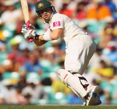 آسٹریلیا نے سڈنی ٹیسٹ کے پہلے روز بھارت کے ایک سو اکیانوے رنز کے جواب میں تین وکٹوں کے نقصان پرایک سو سولہ رنز بنالئے