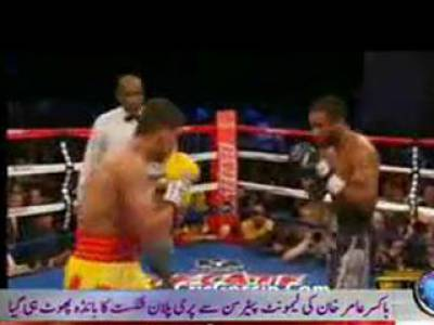 Boxer Aamir Khan Defeated by Cheating 06 January 2012