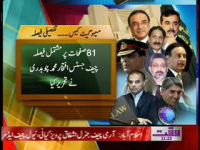 Supreme Court Memo Case Detailed Decision 12 January 2012