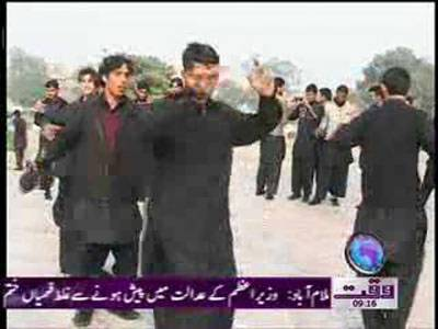 Waziristan Students Visit Lahore News Package 18 January 2012