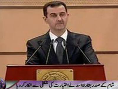 شام کے صدربشارالاسد نے اختیارات نائب صدرکومنتقل کاعرب لیگ کا مطالبہ مستردکردیا ۔