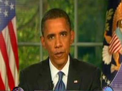 امریکی صدرباراک اوباما نےپاکستان میں جاسوس طیاروں سے حملوں کی تصدیق کردی ۔