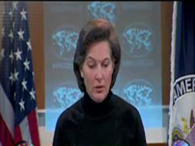 پاکستان میموسمیت تمام مسائل شفاف طریقےسےحل کرلے گا۔ وکٹوریا نولینڈ