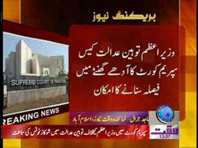 Supreme Court Insult Case Result Announced After 30 Minutes News Package 02 February 2012