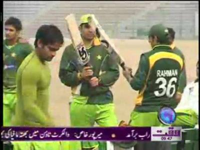 Pakistan vs England Third Test News Package 03 February 2012