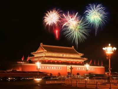 چین میں نئے سال کے جشن کے سلسلے میں رنگارنگ تقریبات کا انعقاد کیا گیا