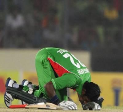 بنگلہ دیش نے بھارت کے خلاف ایشیا کپ میں تاریخی فتح حاصل کرکے سچن ٹنڈولکر کی سنچریوں کی سنچری کا بھارتی مزا کرکرا کردیا۔
