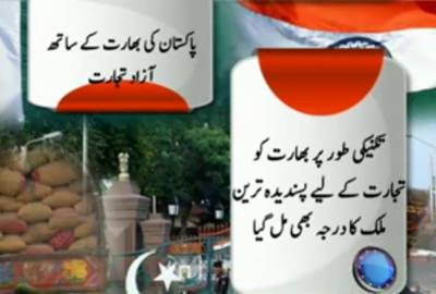 Pakistan Permitted Trade With India to Technically Give it the Status of Most Favourite Nation for Trade 21 March 2012