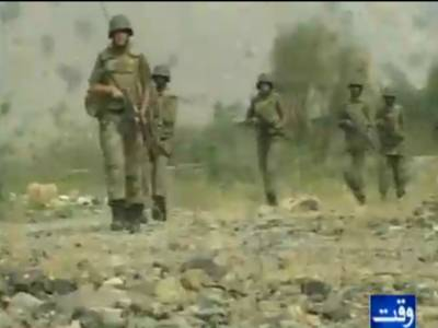 جنوبی وزیرستان میں سکیورٹی فورسز کی کارروائیوں میں دس عسکریت پسند ہلاک جبکہ بیس زخمی ہوگئے۔