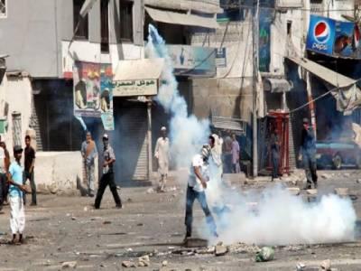 کراچی کے علاقہ لیاری میں جرائم پیشہ افراد کیخلاف آپریشن پرعلاقہ مکینوں اورپولیس اہلکاروں میں شدیدجھڑپیں، علاقہ میدان جنگ بن گیا