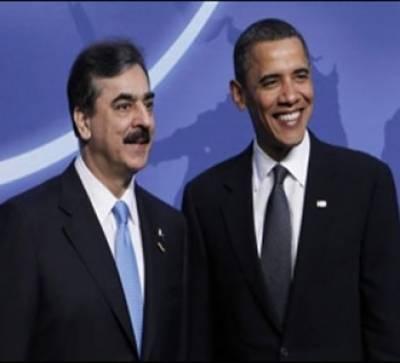 وزیراعظم گیلانی اورامریکی صدر اوباما کے درمیان سئیول میں غیررسمی ملاقات ہوئی ،دوطرفہ تعلقات اورباہمی تعاون کے امور پر تبادلہ خیال کیا گیا۔