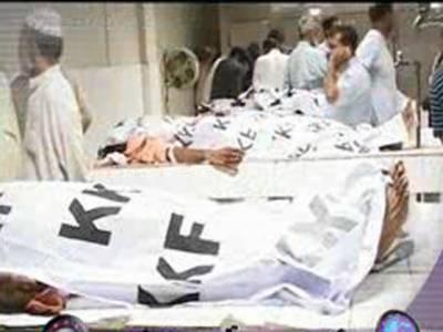 چیف جسٹس سندھ ہائیکورٹ نے کراچی کی صورتحال پرازخود نوٹس لیتے ہوئے ڈی جی رینجرز اور آئی جی سندھ سے تفصیلات طلب کرلی ۔