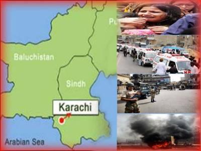 کراچی، پرتشدد واقعات میں گزشتہ رات سے اب تک چودہ افراد قتل، شہر میں ہو کا عالم، سڑکوں پر ٹریفک غائب، کاروباری ادارے بھی بند ۔