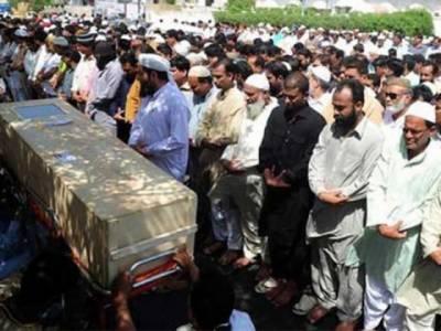 سانحہ کورال، کراچی میں بدقسمت طیارے کے جاںبحق ہونے والےمسافروں کے جنازے ،مزید سات افراد کو سپرد خاک کردیا گیا.