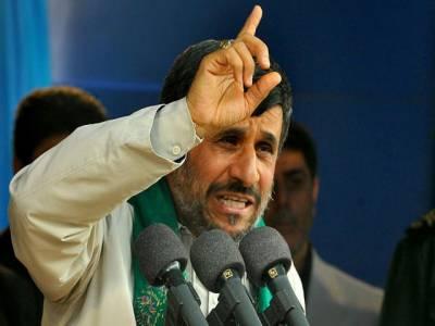عالمی قوتیں ایران اورعراق پر قبضہ کرنےکےلئےدونوں ملکوں کوکمزورکرنےکےدرپے ہیںتاہم انکی سازشیں ناکام بنادی جائیں گی.ایرانی صدرمحموداحمدی نژاد