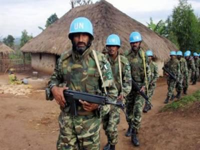 کانگومیں اقوام متحدہ کی امن مشن میں شامل پاکستانی فوجی دستے پرمظاہرین کی فائرنگ سےگیارفوجی زخمی ۔