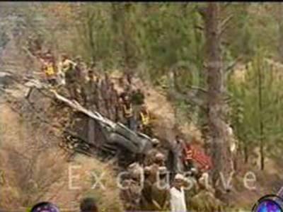 کہوٹہ، باراتیوں کی بس کھائی میں گرنےسےتئیس باراتی جاں بحق جبکہ ساٹھ سے زائد زخمی ۔