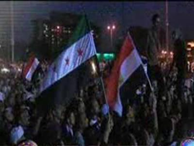 حسنی مبارک کو سزائے موت کے بجائے عمرقید کی سزاسنائے جانے کے خلاف ہزاروں افراد نے قاہرہ کے التحریر اسکوائر پر احتجاجی مظاہرہ ۔