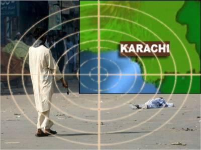 کراچی میں قتل وغارت گری کا سلسلہ بدستور جاری، لی مارکیٹ میں نامعلوم افراد کی فائرنگ، رات سے اب تک پانچ افراد ہلاک ۔