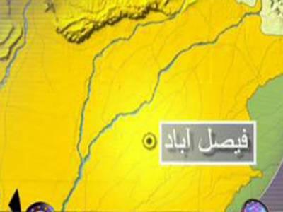 فیصل آباد مبینہ طورپر لڑکی کے اغوا کی کوشش پرپولیس اہلکارعوامی غیض وغضب کا شکار بن گیا۔