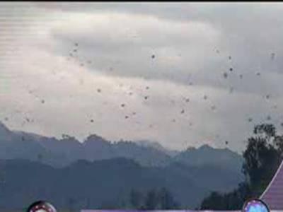 ملک کے بیشتر علاقوں میں موسم خشک اور گرم رہے گا تاہم کشمیر، گلگت بلتستان اور اس سے ملحقہ پہاڑی علاقوں میں ہلکی بارش کا امکان ہے۔