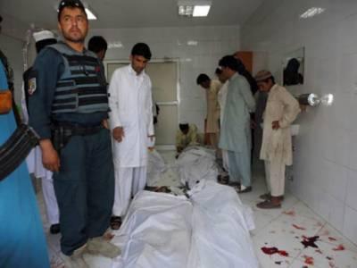 مشرقی افغانستان میں نیٹو قافلے پر خود کش حملے کے نتیجے میں دس افراد ہلاک اورتیرہ زخمی ہو گئے