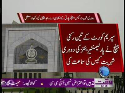 Dual Nationality Case In Supreme Court Of Pakistan News Package 25 June 2012