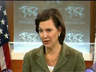 پاکستان اورافغانستان کودہشتگردی کیخلاف تعاون بڑھانا ہوگا۔ وکٹوریانولینڈ