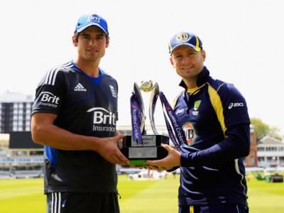 انگلینڈ اور آسٹریلیا کی کرکٹ ٹیموں کے درمیان پہلا ایک روزہ میچ آج لارڈز میں کھیلا جائے گا۔