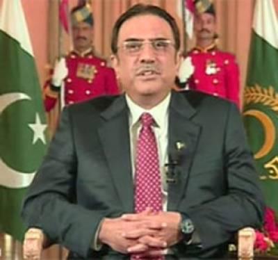 صدرآصف علی زرداری نے سندھ حکومت کو کراچی میں بہر صورت قیام امن اورلیاری کا مسئلہ سیاسی بنیادوں پر حل کرنے کی ہدایت کی ہے۔