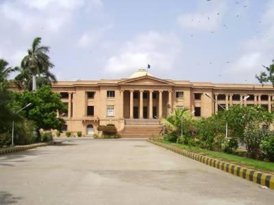 سندھ ہائیکورٹ نے ووٹرلسٹ کالعدم قراردینے سے متعلق درخواست پرچیف الیکشن کمیشنر،وفاق اوردیگرکواٹھائیس اگست تک نوٹس جاری کردئیے۔