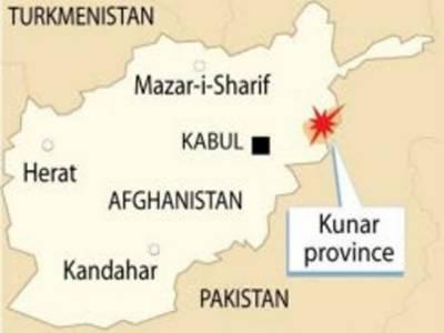افغانستان کے صوبے کنڑ میں نیٹو نے فضائی حملہ کرکے کالعدم تحریک طالبان باجوڑ ایجنسی کے امیر ملا داد اللہ سمیت تیرہ شدت پسندوں کو ہلاک کردیا۔