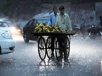 ملک بھرمیں مون سون بارشوں کا سلسلہ جاری ہے، آج لاہوراورکراچی میں موسلادھاربارش سے موسم خوشگوارہوگیا