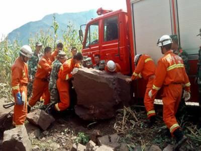 جنوب مغربی چین میں زلزلے کے باعث ہلاکتوں کی تعداد اسی ہوگئی