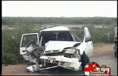 Car and Oil Tanker Accident in Kharo News Package 10 September 2012