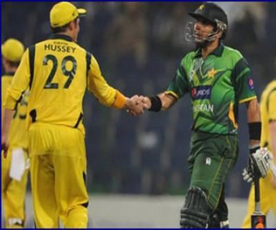 پاکستان اور آسٹریلیا کے درمیان تیسرا ٹی ٹونٹی میچ آج دبئی میں کھیلاجائےگا۔