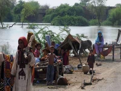 کوہ سلیمان، تونسہ اور ڈیرہ غازی خان میں بارشوں کے باعث سیلابی پانی کی سطح میں اضافہ, متاثرین کو شدید مشکلات کا سامنا, نظام زندگی بدستور معطل ۔