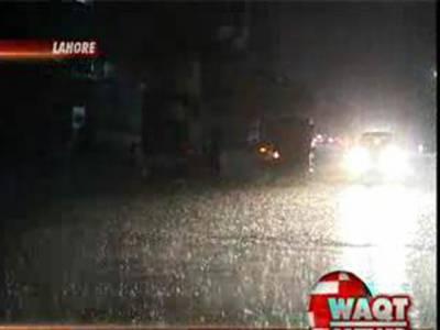 لاہور،روالپنڈی اور اسلام آباد سمیت ملک کے مختلف علاقوں میں بارشوں کا سلسلہ وقفے وقفے سے جاری ہے۔