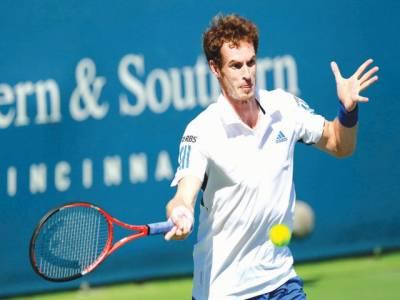 جاپان اوپن ٹینس ٹورنامنٹ میں دفاعی چیمپئن اینڈی مرے نے کوارٹر فائنل میں جگہ بنالی۔