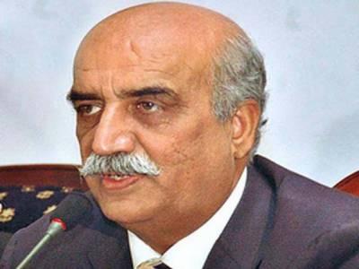 وفاقی وزیر سید خورشید شاہ نےبلوچستان سے پنجاب میں آنے والی سڑک کی تعمیر میں تاخیر پرسیکرٹری فنانس،ڈپٹی سیکرٹری پلاننگ اور ایم ڈی نیسپاک کوطلب کرلیا.