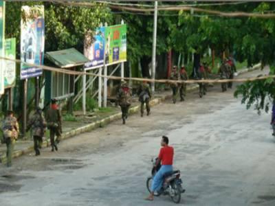 برما ریاست راکھینی: مسلم کش فسادات میں ہلاکتوں کی تعدادچھپن ہوگئی، کشیدہ صورتحال کے باعث مسلمانوں کا عیدالضحی نہ منانے کا اعلان.