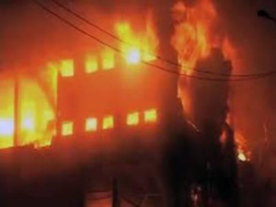 کراچی: فیکٹری میں لگنے والی آگ پر قابو پالیا گیا