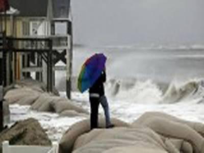 امریکہ میں تاریخ کے خوفناک ترین سمندری طوفان سینڈی سےنیویارک اورنیوجرسی میں 10سے زائد افراد ہلاک ,طوفان کے پیش نظر9ریاستوں میں ایمرجنسی نافذ