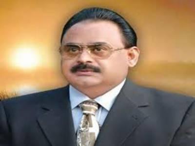 حکومت کی کراچی سے نظر ہٹی تو بھتہ خور سرگرم ہوگئے، الطاف حسین
