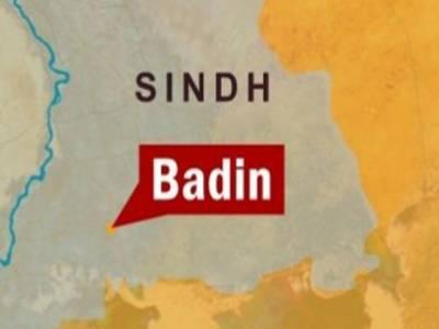 سندھ کے علاقے بدین میں ٹنڈو غلام حیدر تلہارکےقریب گاڑی کھائی میں گرنے سے آٹھ افرادجاں بحق اور دوزخمی ہوگئے۔