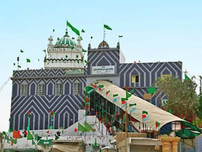 کراچی میں حضرت عبداللہ شادہ غازی کا ایک ہزار دو سو بیاسی واں عرس مبارک کا آغاز کل سے ہورہاہے