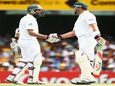 جنوبی افریقہ نے آسٹریلیا کے خلاف پہلے ٹیسٹ کے پہلے روز دو وکٹوں کے نقصان پر دوسو پچپن رنز بنالئے۔