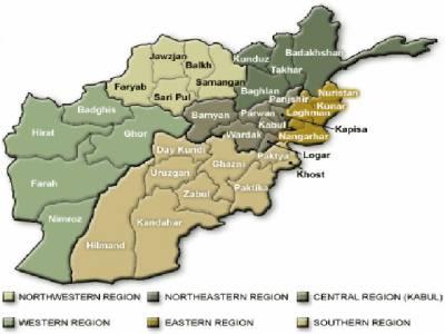 افغانستان کے دو مختلف صوبوں میں بم دھماکوں کے نتیجے میں نومولود بچی سمیت نو افراد ہلاک ہوگئے۔