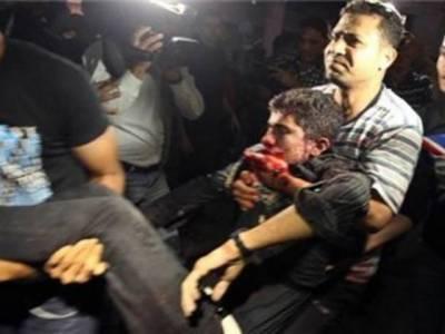 غزہ میں اسرائیلی ٹینک کی شیلنگ سے چھ فلسطینی شہید جبکہ پچیس زخمی ہو گئے ہیں
